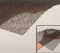 Углеродного волокна ткани (Fine 10 г / м2) 1mtr
