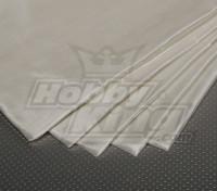 Стеклянные волокна ткани 450x1000mm 48г / м2 (ультра тонкий)