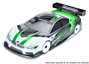 Bittydesign M410 1/10 Touring Car Body (Clear) (190mm)