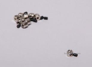 Посадка Gear Wheel Стоп Set Воротник 6x2.1mm (10шт)