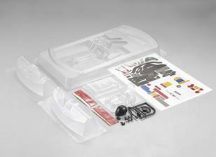 Комплект Кокпит MatrixLine Поликарбонат Задний двигатель для 1/10 Touring Cars