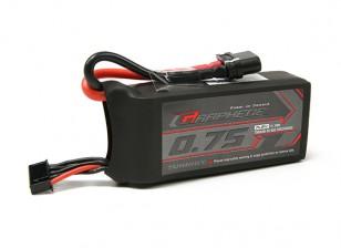 Turnigy Графен 750mAh 4S 65C Lipo Pack (Короткое)