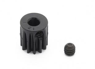 Робинсон Гонки Черный анодированный алюминий шестерней 48 Pitch 12T