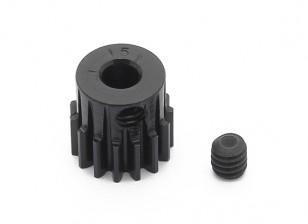 Робинсон Гонки Черный анодированный алюминий шестерней 48 Pitch 15T