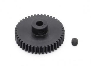 Робинсон Гонки Черный анодированный алюминий шестерней 48 Pitch 43t (AR Склад)