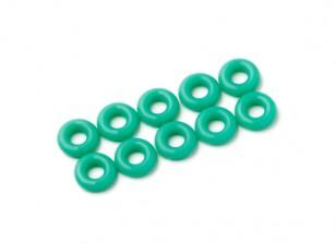 Уплотнительное кольцо Kit 3 мм (зеленый) (10шт / мешок)