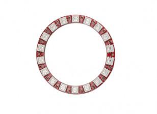 Киз носимого WS2812 18 СИД полного цвета 5050 Модуль RGB LED кольцо