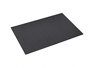 Углеродного волокна листа 300 х 200 х 1,5 мм