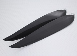 Раскладной углерода Заряженный Propeller 14x8 черный (КОО) (1шт)