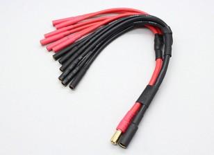 5.5mm пуля 6 X 4 мм пуля Multistar ESC Мощность многожильного кабеля