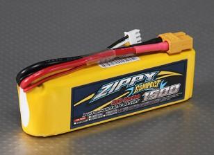 ZIPPY Компактный 1500mAh 3S 35C Lipo обновления