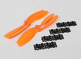 8045 SF Реквизит 2рс CW 2 шт вращение против часовой стрелки (оранжевый)