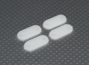 Зубчатые Пластины 28x13mm (4 шт / комплект)