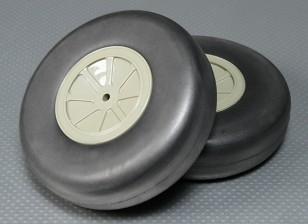 Свет пены колеса (диам: 127, ширина: 38мм) (2Pcs / мешок)