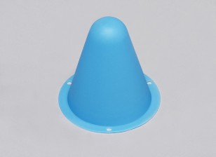 Пластиковые Гонки Конусы для R / C Car Track или Дрейф курс - Синий (10pcs / мешок)