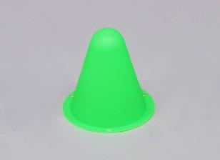 Пластиковые Гонки Конусы для R / C Car Track или Дрейф курс - зеленый (10pcs / мешок)