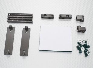 1/10 автомобиля алюминиевый CNC Тело Shell Монтажный комплект (титан)