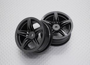 Масштаб 1:10 Touring High Quality / Дрейф Колеса RC автомобилей 12mm Hex (2pc) CR-F12M