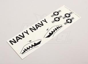 ВМС США Stars & Bars / Sharksmouth для Parkfly Jet