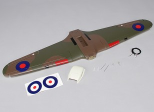 Hawker Hurricane Mk IIB 1000мм - Замена основного крыла