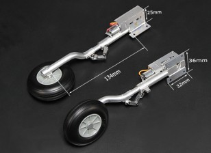 Turnigy Full Metal Servoless 90 градусов Ретракты с 134mm Oleo ног (2шт)