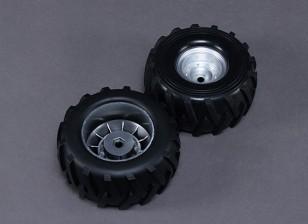 Колеса - Реактивные клоуны Башер 1/8 Scale Monster Truck (2 шт)