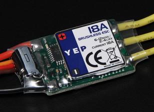 HobbyKing YEP 18A (2 ~ 4S) ЦМП безщеточный регулятор скорости