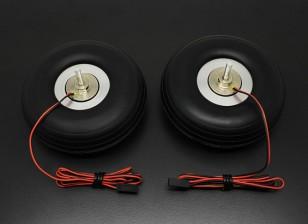 "Turnigy Электрический Магнитная тормозная система 90мм (3.50 "") Колесо (2pc)"