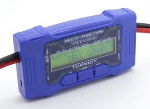 Turnigy 100A 60V Многофункциональный измеритель Watt ж / Temp Sensor