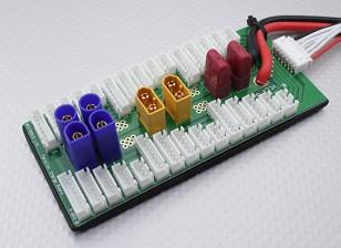 Hobbyking Параллельный процесс зарядки совет по 6 пакетов 2 ~ 6S (XT60 / EC5 / T-Connector)