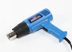 Двоевластие Пистолет горячего воздуха 750W / 1500W выход (230В / 50Гц версия) с Великобритания Plug