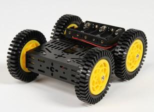 DG012-ATV 4WD (ATV) Комплект Мульти шасси с четырьмя резиновыми Tyres
