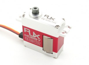 RJX FS-0391THV Metal Gear Digital Tail Servo Ultra High Speed ​​10.6kg / 0.03sec / 50г