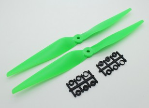 Hobbyking ™ Propeller 11x5 Green (КОО) (2 шт)