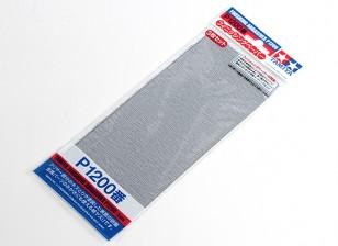 Tamiya Отделочные Wet / Dry Sandpaper P1200 Grade (3шт)