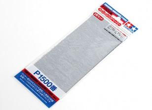 Tamiya Отделочные Wet / Dry Sandpaper P1500 Grade (3шт)