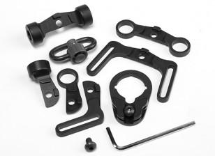 Элемент EX246 Многофункциональный Sling Поворотный комплект для M4 AEG (черный)