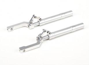 Сплав Oleo Struts смещена продольный рычаг 155мм ~ 12.7мм Pin (2 шт)