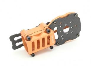 Таро Обновление двигателя и ESC крепление для Multi-роторы с 25мм оружием (1шт) (оранжевый)