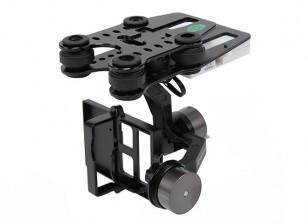 Quanum Q-2D Бесщеточный GoPro 3 Gimbal (подходит для Нова, Phantom, QR X350 и другие)