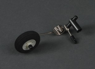 HobbyKing® Bix3 тренер 1550мм - Замена хвостового колеса