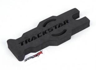 Trackstar 1/10 и 1/12 Scale Touring / Pan Техническое обслуживание автомобилей Стенд (черный) (1шт)