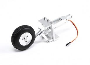 Turnigy все металлические Выдвижной хвостовое колесо Сборка для 2 ~ 2,5 м размах крыльев Warbirds
