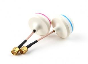 5.8GHz антенны с круговой поляризацией Set-передатчик и приемник (SMA)