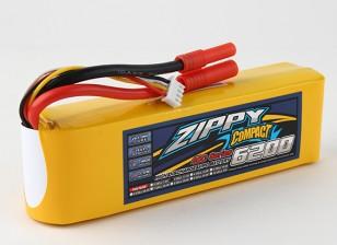 ZIPPY Компактный 6200mAh 3s 40c Lipo обновления