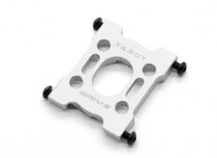 Таро 450 Pro / Pro V2 DFC Металлический кронштейн опоры двигателя - Серебро (TL45030-03)
