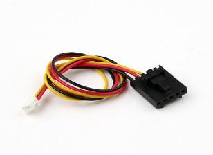 200мм 5 Pin Molex / JR 3 Pin разъем белого цвета свинца