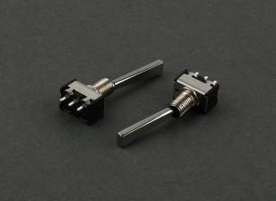 Плоский 2-позиционный переключатель (Long) (2 шт)
