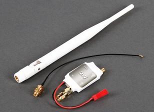 2,4 ГГц 2 Вт Усилитель сигнала для DJI Phantom 1 & 2 (белый)