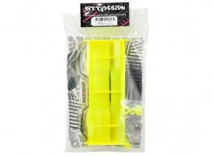 Bittydesign Stealth Крыло для всех 1/8 Buggy / Truggy (желтый)
